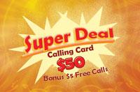Super Deal $50